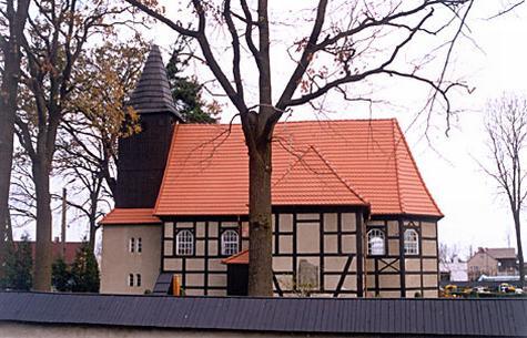 Kościół w Kaczkowie - stare zdjęcie